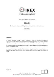 charte dolmen